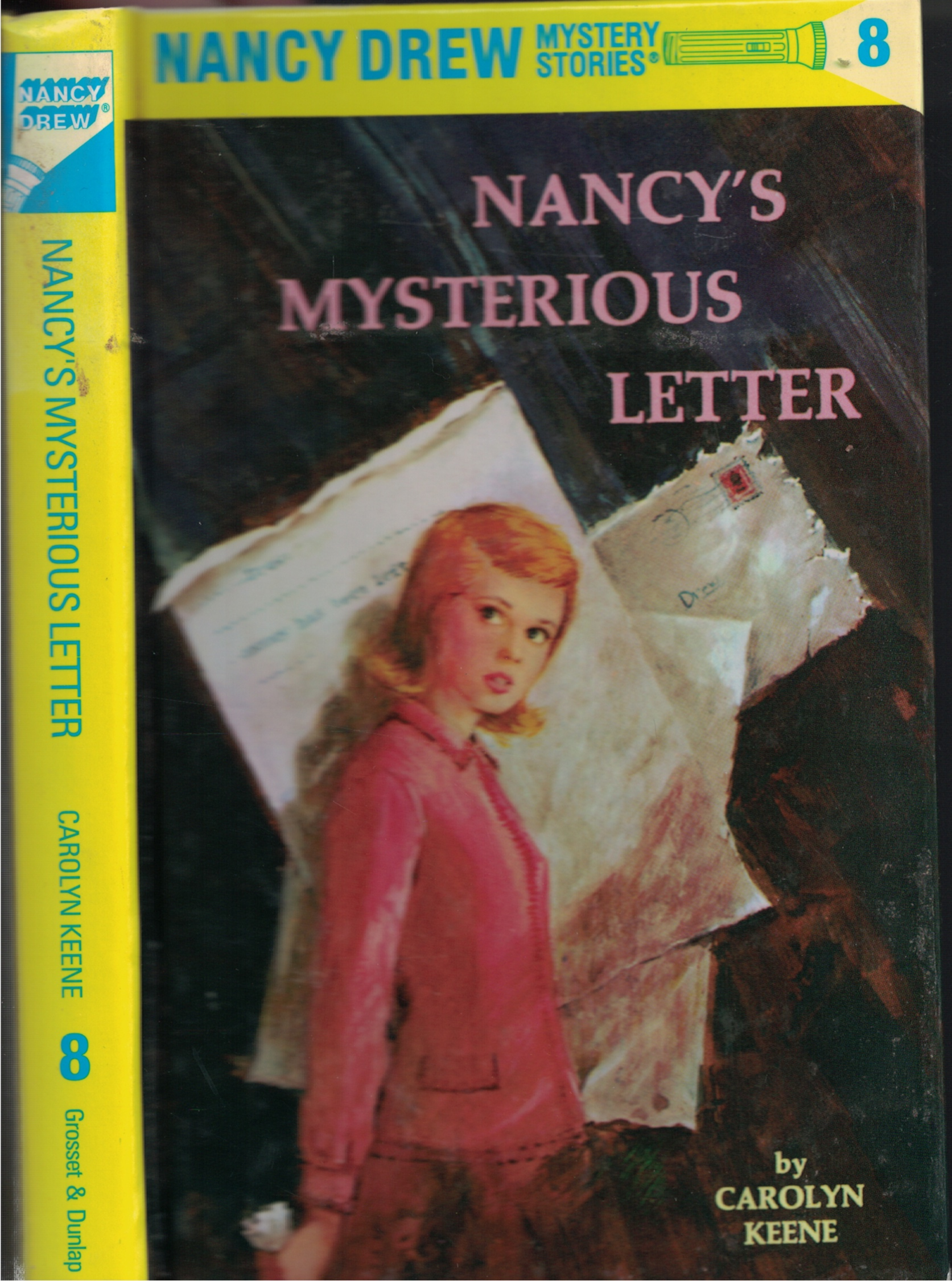 Image for Nancy's Mysterious Letter Book 8