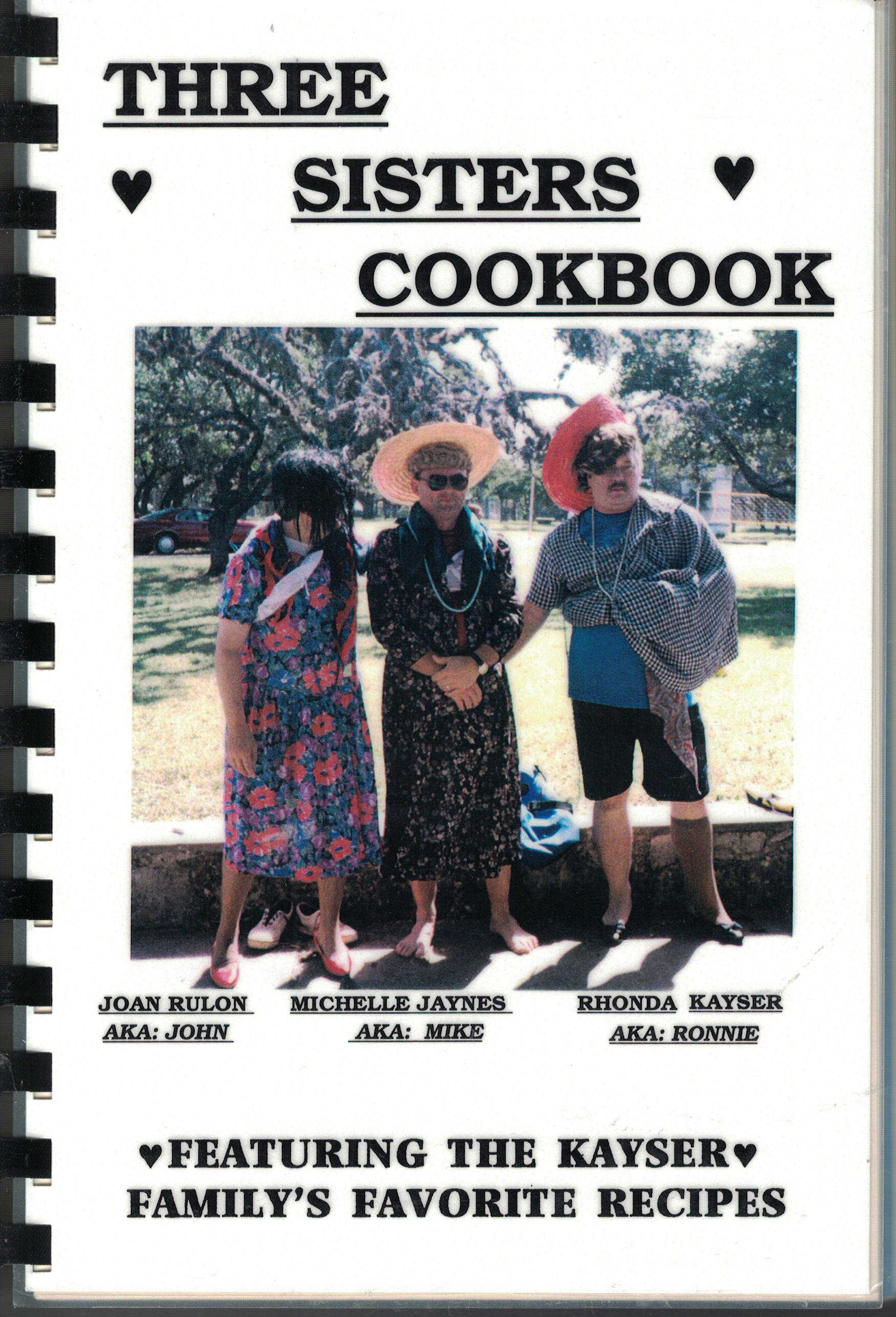 Image for Three Sisters Cookbook Featuring the Kayser Family's Favorite Recipes