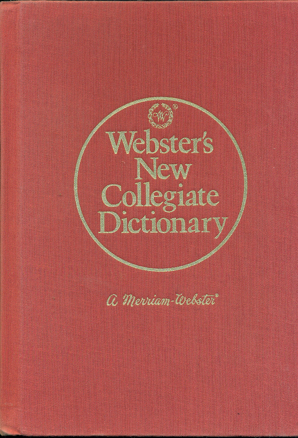 Image for Webster's New Collegiate Dictionary