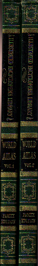Image for Hammond Illustrated Family World Atlas  Vols 1 & 2