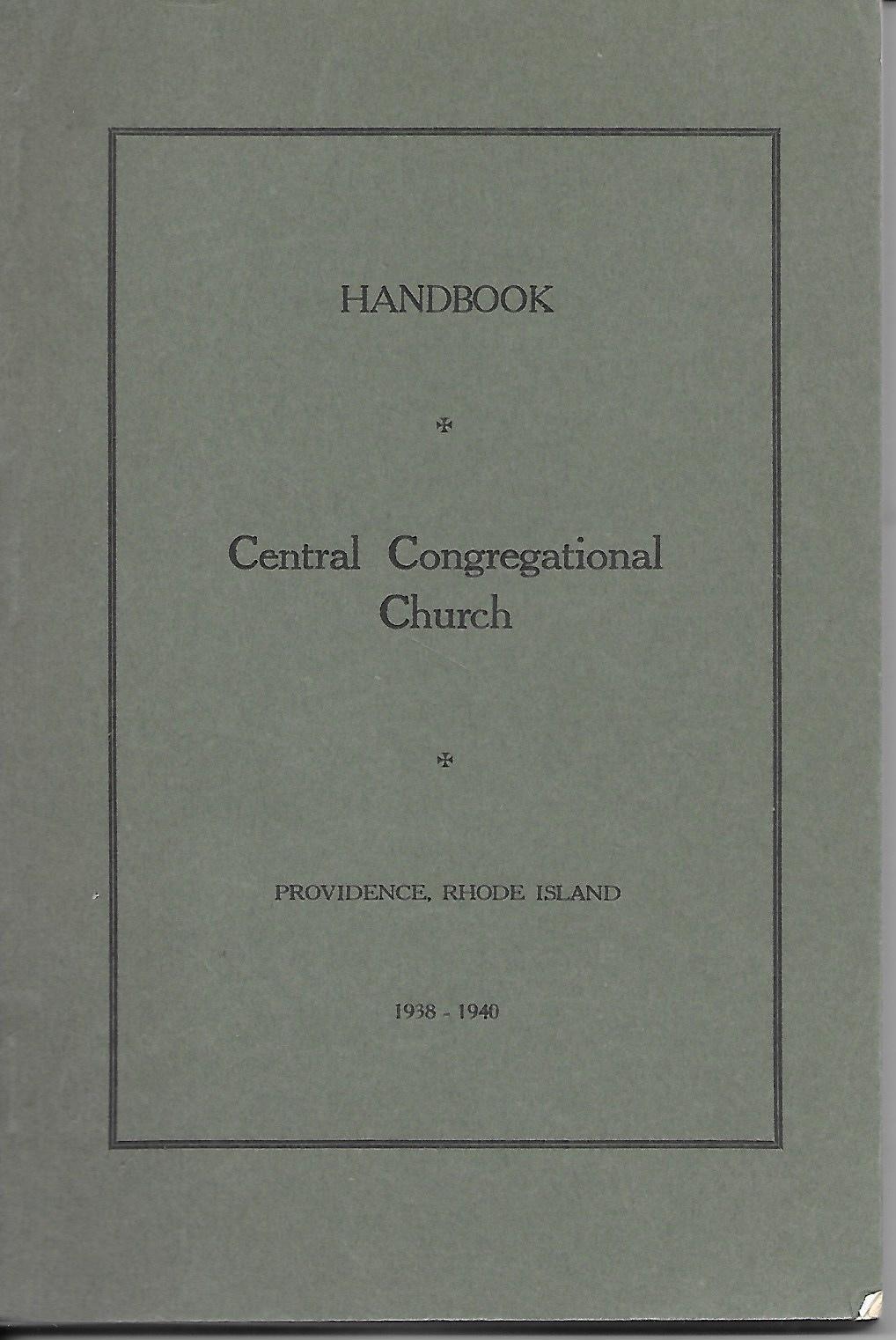 Image for Central Congregational Church Handbook