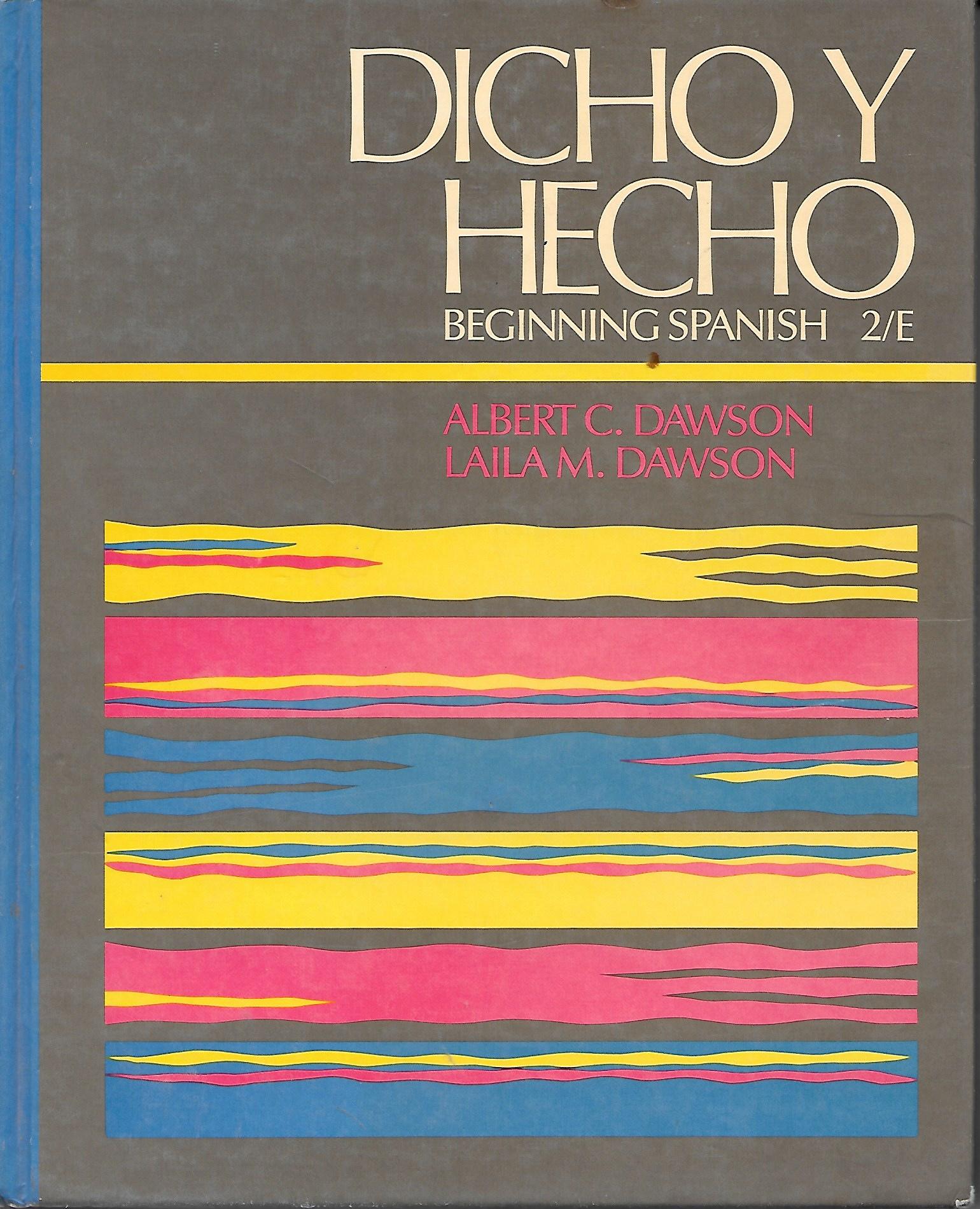 Image for Dicho Y Hecho