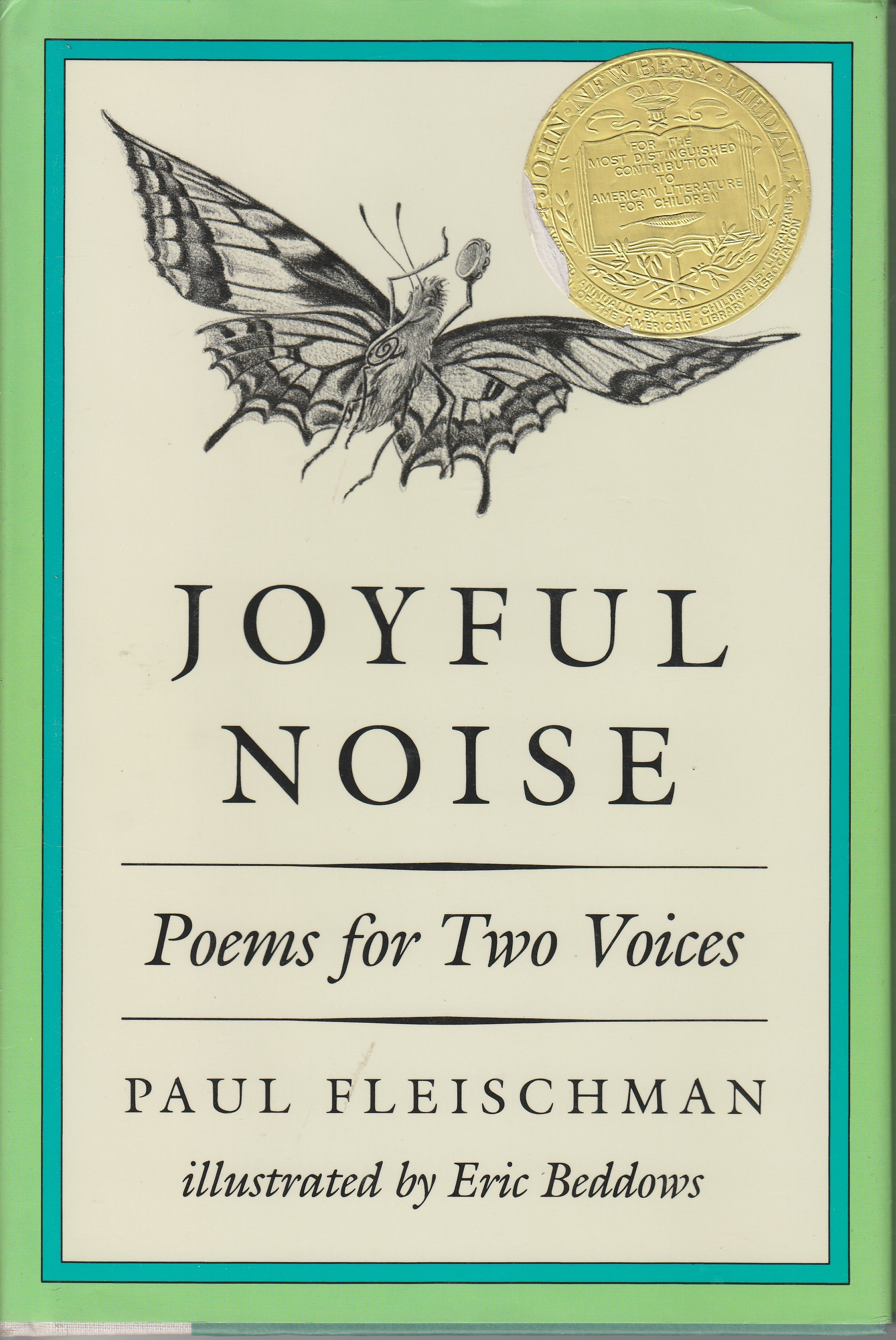 Image for Joyful Noise Poems for Two Voices