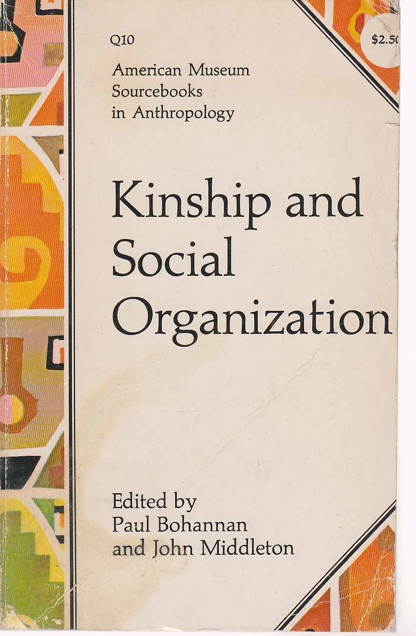 Image for Kinship & Social Organization American Museum Sourcebooks in Anthropology