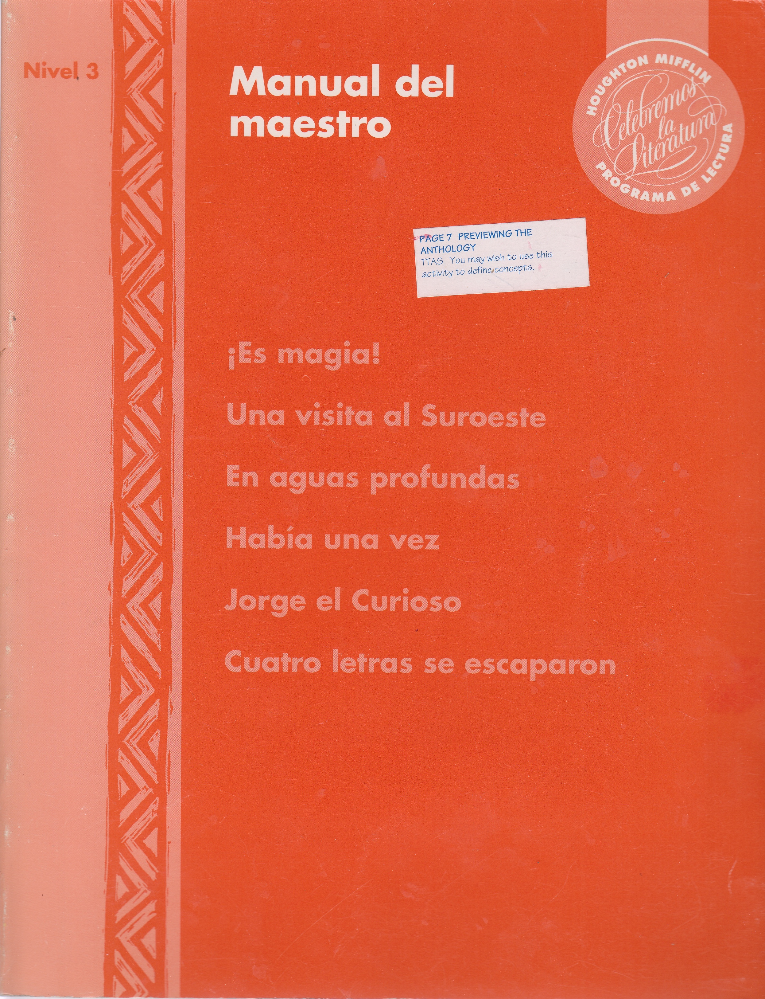 Image for Manual Del Maestro
